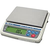 A&D Everest Compact Balance,Jewelry Scale EK-1200i, 1200 g X0.1 g, NTEP, Legal For Trade, New