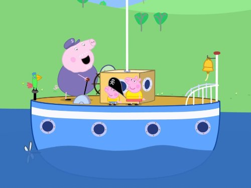 Peppa Pig French (Polly's Boat Trip/Delphine)