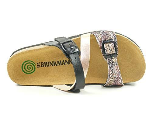 femme Brinkmann Mules Dr 700990 Rose t4TpYqw