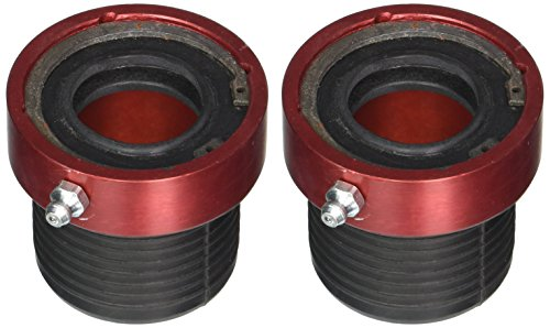 (Ten Factory MG21102 Red Dana Axle Tube Seal, Pair (30/44))