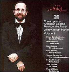 Cover of Contemp American Eclectic Music Piano 3