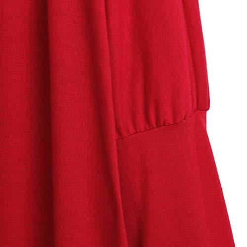 Spbamboo Womens Cardigan Oversize Long Jacket Open Front Bat Sleeve Coat Outwear by Spbamboo (Image #5)