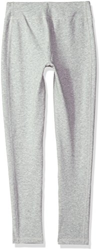 Under Armour Girls' Favorite Knit Leggings, True Gray Heather (025)/Penta Pink, Youth Medium by Under Armour (Image #2)