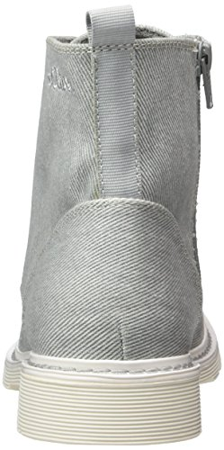 Gris 25475 S grey Mujer Militar Botas oliver Para pxqZS8w