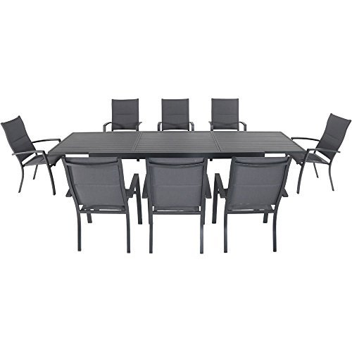 Naples 9-Piece Outdoor Dining Set