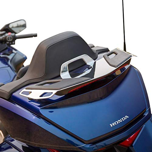 Honda Genuine Accessories Trunk Rack (Chrome) - Genuine Honda Motorcycle Accessories