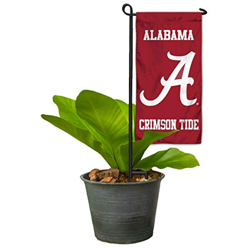 Alabama Crimson Tide Mini Garden and Flower Pot Flag Topper