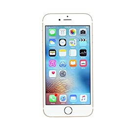 Apple iPhone 6S Plus, 64GB, Gold - For AT&T (Renewed) 4 <p>iPhone 6s PLUS: A 5.5-inch Retina HD display with 3D Touch. 7000 series aluminum and stronger cover glass. An A9 chip with 64-bit desktop-class architecture. All new 12MP iSight camera with Live Photos. Touch ID. Faster LTE and Wi-Fi. Long battery life and iOS 10 and iCloud. All in a smooth, continuous unibody design. This Certified Refurbished product has been tested and certified to work and look like new, with minimal to no signs of wear, by a specialized third-party seller approved by Amazon. The product is backed by a minimum 90-day warranty, and may arrive in a generic brown or white box. Accessories may be generic and not directly from the manufacturer. 5.50-inch touchscreen display with a resolution of 1080 pixels by 1920 pixels at a PPI of 401 pixels per inch. Powered by A9 processor with 64 bit, M9 Motion Chip 12-megapixel primary camera on the rear and a 5-megapixel front shooter for selfies. 64GB of internal storage cannot be expanded</p>