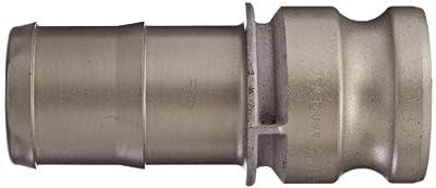 Dixon Aluminum Hard Coat Boss-Lock Type E Cam and Groove Fitting, Plug x Barbed