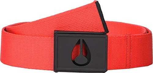 Nixon Men's Spy Belt Black/Red XS/SM - Nixon Black Belt