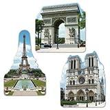 French Cutouts   (3/Pkg)