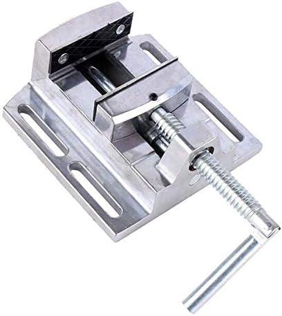 ミニ万力フラット副ミニデスクトップペンチ修復ツール2.5インチ合金マシンブラケットアルミニウムを穿孔するための機械万力を掘削