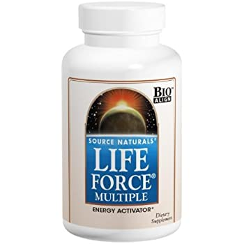 Source Naturals Life Force Multiple Energy Activator, 180 Capsules