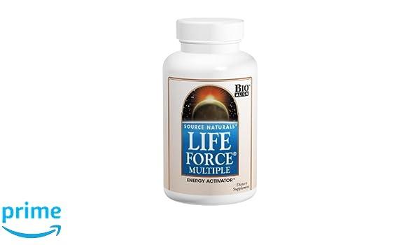 Source Naturals Life Force Multiple Energy Activator, 180 Capsules: Amazon.es: Salud y cuidado personal