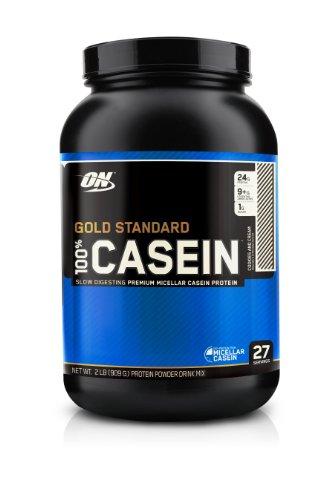 Optimum Nutrition 100% de caséine protéine, biscuits et crème, 2 Pound