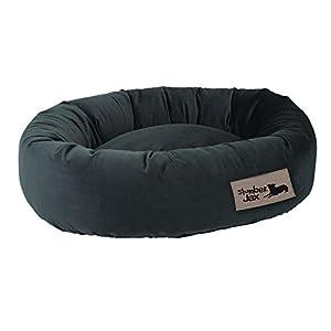 B00MP7FNQWC6B SlumberJax  32 x 38 x 8-Inch Donut Dog Bed, Large, Spa Summit