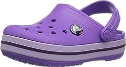 Crocs Kid's Crocband Clog   Slip On Water Shoe for Toddlers, Boys, Girls   Lightweight