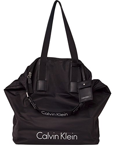 Nylon Black City Calvin Klein Bolsa Shopper zx6ExqwF7X