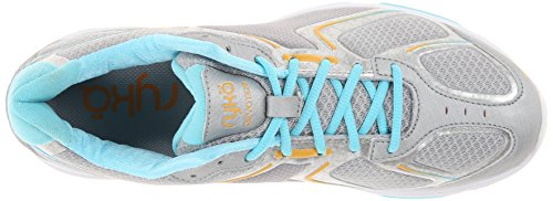 Blue Women's Walking Shoe Ryka Grey Orange Light Devotion nSv4xxOT
