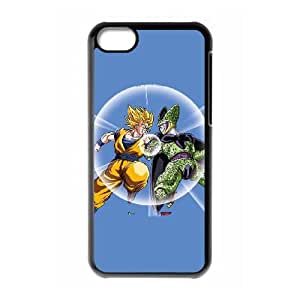 Dragon Ball Z Goku & Cell iPhone 5c Cell Phone Case Black Delicate gift AVS_697099