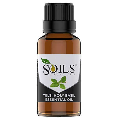 STRONG OILS 100% PURE TULSI HOLY BASIL ESSENTIAL OIL 1 OZ (30 ML) THERAPEUTIC GRADE