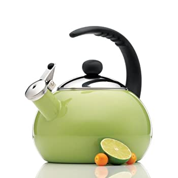 Farberware Luna 2-1/2-Quart Teakettle, Granny Apple