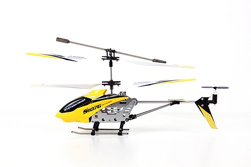 UPC 858212002479, Syma S107G 3 Channel RC Radio Remote Control Helicopter with Gyro - Black Yellow