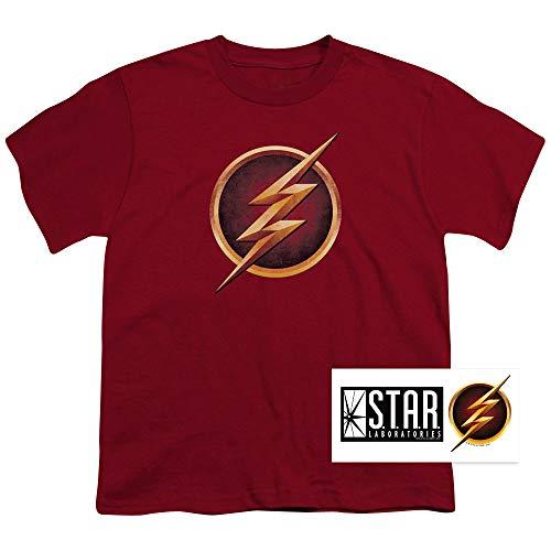 Popfunk The Flash Distressed Logo T Shirt