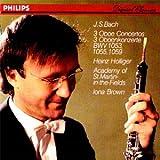 Bach: 3 Oboe Concertos