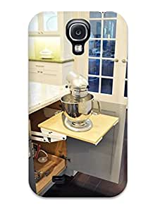 Chris Bullock Snap On Hard Case Cover Gourmet Kitchen Baking Station With Pop-up Mixer Stand Protector For Galaxy S4
