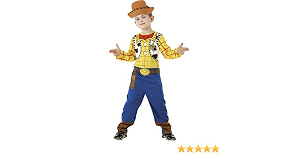 Toy Story - Disfraz de Woody clásico en caja para niño, infantil 5 ...