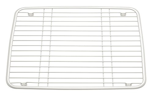 Wire Sink Protector | Interdesign Axis Sink Protector Grille Metal Wire Sink Liner With
