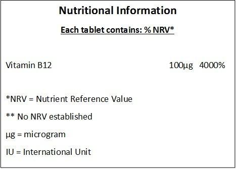 Vitamina B12 100ug - 360 Tabletas - * VITAMINA ESENCIAL *: Amazon.es: Salud y cuidado personal