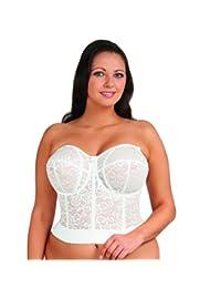 Goddess Women's Lace Bustier Bra #GD0689
