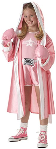 [Child Large (10-12) - Everlast Boxer Girl Costume (shoes not included)] (Boxing Halloween Costumes)