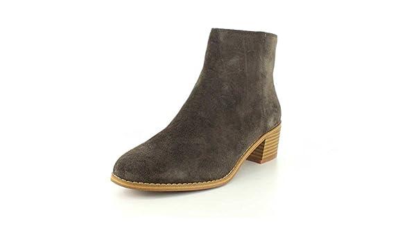 Clarks Mujeres Botas, Khaki Suede, Talla 5: Amazon.es: Zapatos y complementos