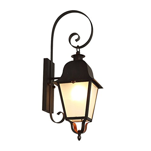 Outdoor Wall Lamp Waterproof Courtyard Lamp American Retro Style Exterior Wall Lamp Balcony for Entrance Door Light by 505