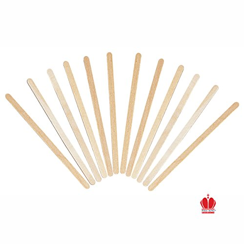 7 1/2 Inch Round Wooden Stirrer 500 count box (Stirrers Box)