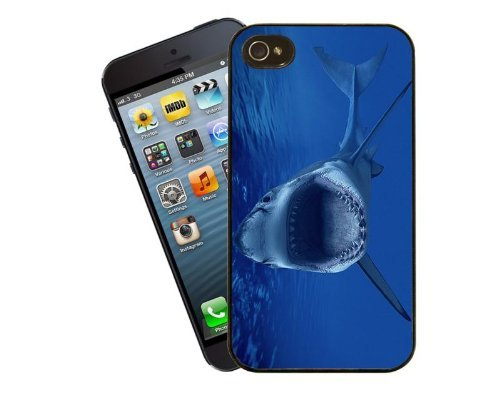 Eclipse Gift Ideas Shark-Coque pour iPhone 4/4s