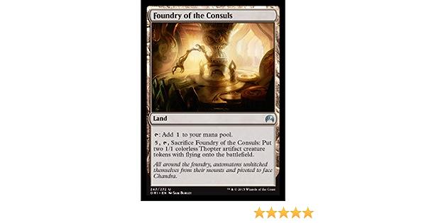 Foundry of the Consuls FOIL Magic Origins NM Land Uncommon MAGIC CARD ABUGames