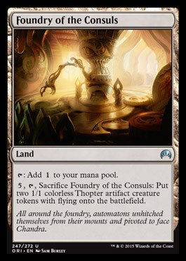 Magic: the Gathering - Foundry of the Consuls (247/272) - Origins - Foil
