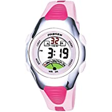 Kids Watch 30M Waterproof Sport LED Alarm Stopwatch Digital Child Wristwatch for Boy Girl Gift Pink