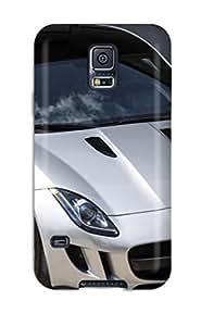 Anti-scratch And Shatterproof 2014 Jaguar F-type Sport Car Phone Case For Galaxy S5/ High Quality Tpu Case