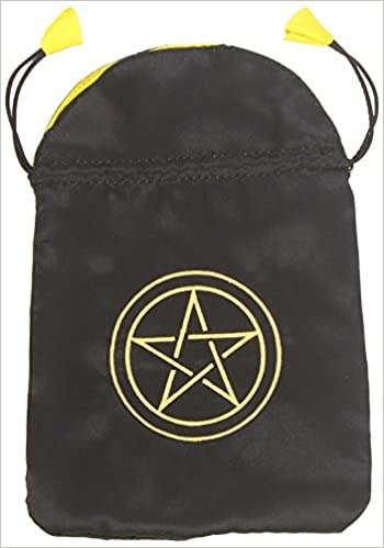 Pentacle Satin Bag (Bolsas de Lo Scarabeo Tarot Bags From Lo ...