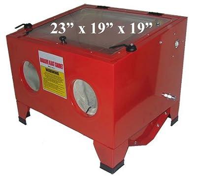 80psi Table Top 5cfm Abrasive Sandblaster Blast Cabinet