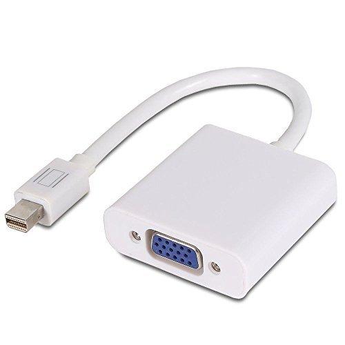 13 opinioni per Mondpalast Bianco Mini Displayport miniDP verso cavo VGA female 1080p video