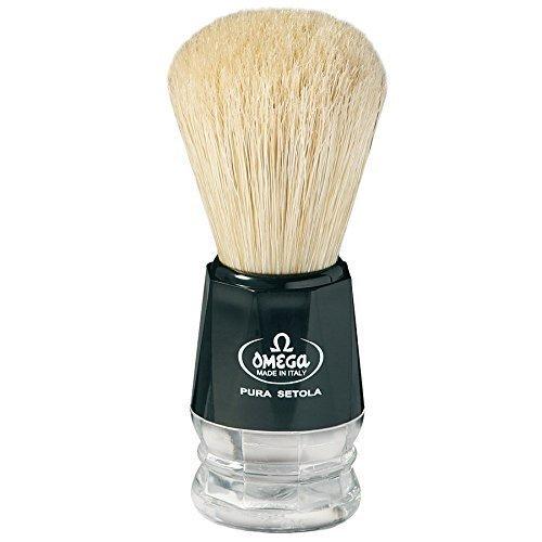 Omega S-Brush Fiber Shaving Brush- S10019 by Omega