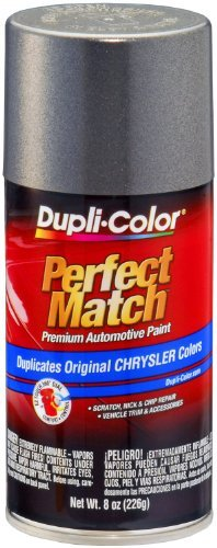 Dupli-Color BCC0331 Charcoal Gray Metallic Chrysler Exact-Match Automotive Paint - 8 oz. Aerosol Size: 8 Ounce Aerosol Color: Charcoal Gray Metallic, Model: BCC0331, Car & Vehicle Accessories / Parts