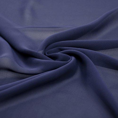 Length Natrual Navy Knee A Chiffon Strapless Evening Dress Blue line qUwUXrO