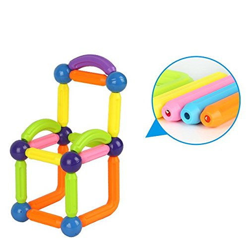 OOFAY Magnetic Building Sticks Building Blocks Juniors 32 Piece Construction Set Construction Stacking Educational Toys by OOFAY (Image #6)